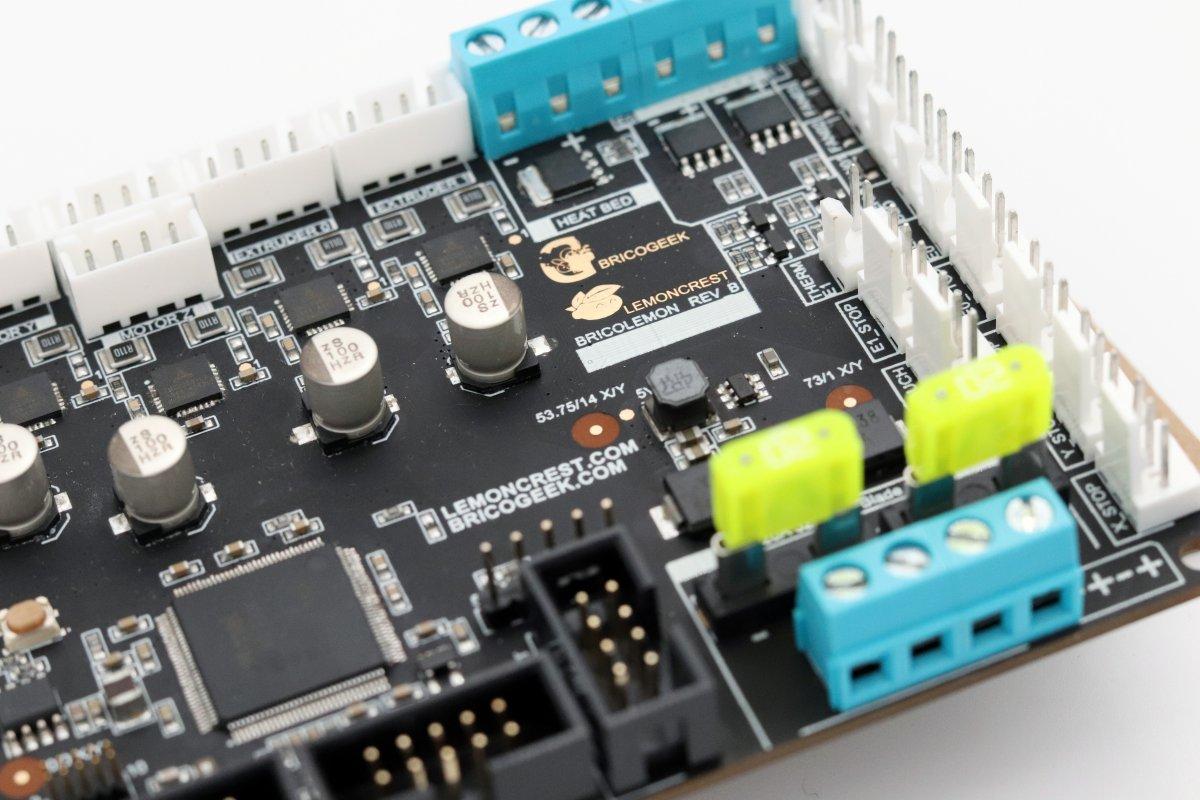 Placa controladora de alta calidad para impresoras 3D - BricoLemon rev B